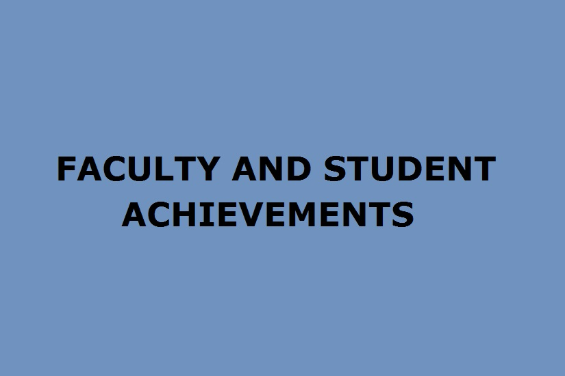 Faculty and Students Achievements